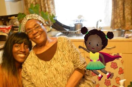 Kai with Aunty Marian