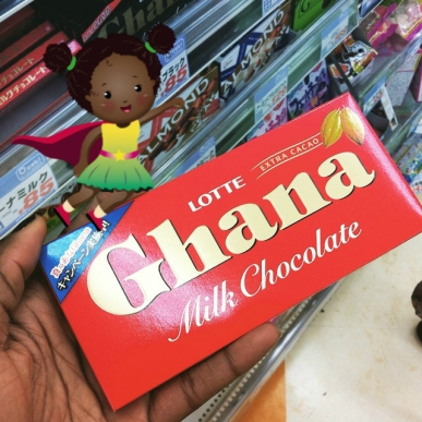 TMK and Ghana Chocolate in SKorea