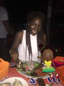 Travelmakingkai eating with hands Ghana